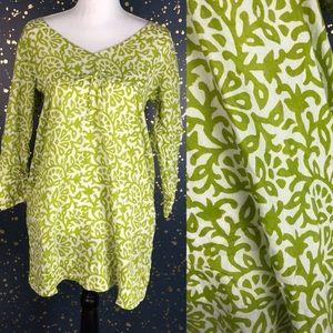 Gretchen Scott Long Sleeve Tunic Blouse Size Small